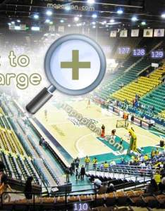 Eaglebank arena seating layout view section row  seat virtual review basketball photo guide sections also  numbers detailed chart fairfax rh mapaplan