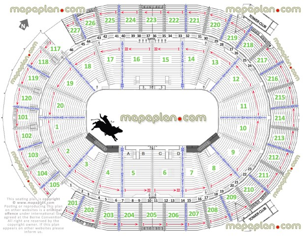 At T Seating Chart Rodeo Brokeasshome Com