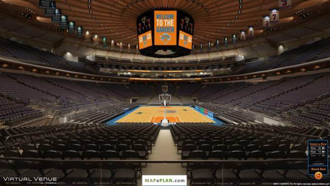 Interactive Seating Chart Madison Square Garden Concert – Madison Square Garden Seat Plan