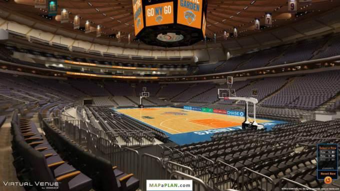 Madison Square Garden Virtual Seating Chart Boxing – Seating Plan Madison Square Garden