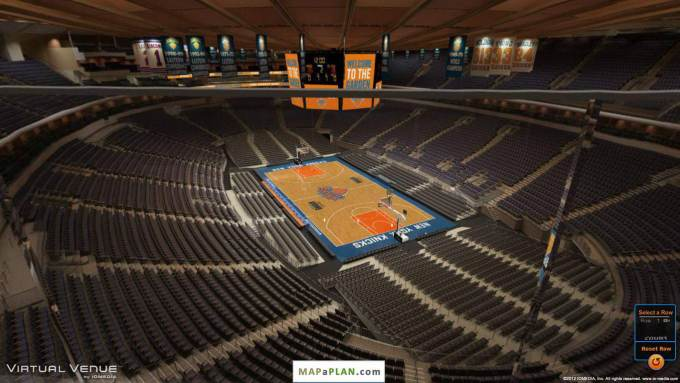 Madison Square Garden Ufc Seating Chart With Seat Numbers – Madison Square Garden Seat Plan
