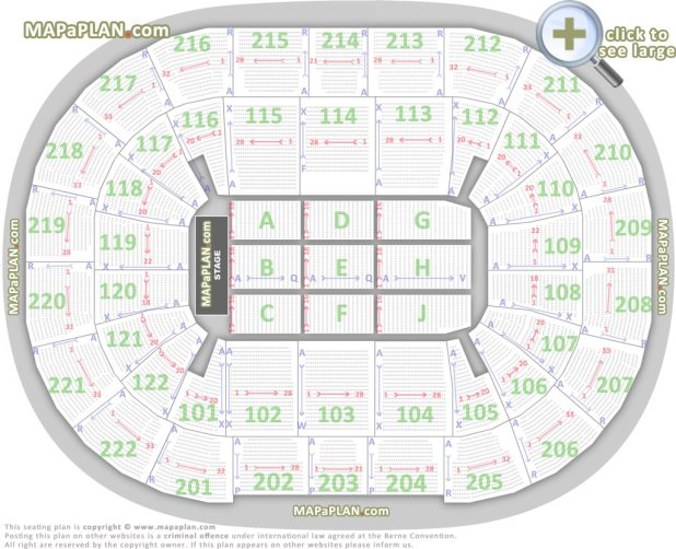 Air Canada Centre Floor Row 20 2nd Toronto Show Confirmed