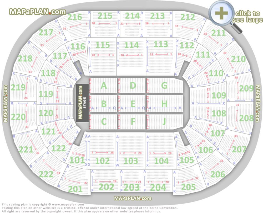 medium resolution of detailed chart with individual seats rows blocks numbers manchester arena seating plan