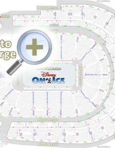 Disney ice show arrangement review diagram best partial obstructed vip lexus lounge view seat finder precise also bridgestone arena  row numbers detailed seating chart rh mapaplan