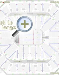 Detailed seat row numbers end stage concert sections floor plan map arena lower upper level layout also oracle  seating chart oakland rh mapaplan