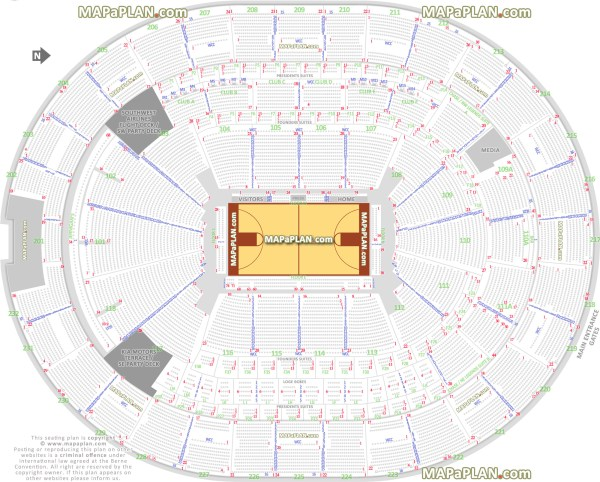 Amway Arena Map Pictures to Pin on Pinterest PinsDaddy