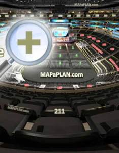 View section row  seat virtual venue  interactive interior tour upper level inside also consol energy center  numbers detailed seating chart rh mapaplan