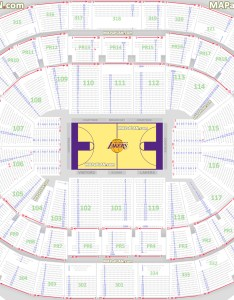 Lakers detailed seat numbers chart with rows premier sections layout staples center seating also la california rh mapaplan