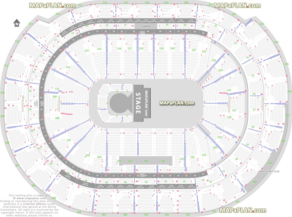 medium resolution of circus by cirque du soleil exact seating map showing how many seats in a row private loge suite boxes sunrise bb t center seating chart