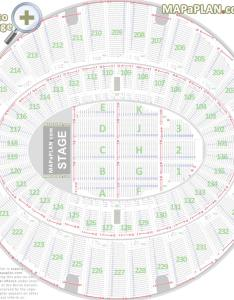 Detailed seat numbers chart with rows sections layout the forum inglewood seating also la rh mapaplan