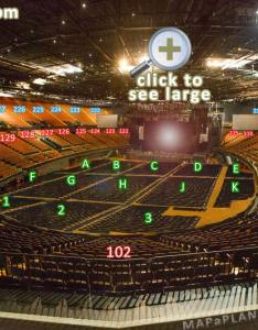 View from section row seat virtual interactive concert stage tour showing inside bowl levels the forum los angeles seating plan also inglewood numbers detailed chart la rh mapaplan