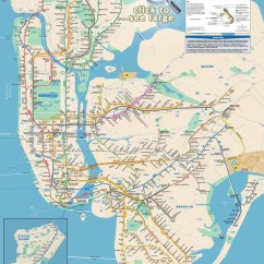 New York City Subway Diagram Beretta 92fs Parts Maps Of Top Tourist Attractions Free Printable