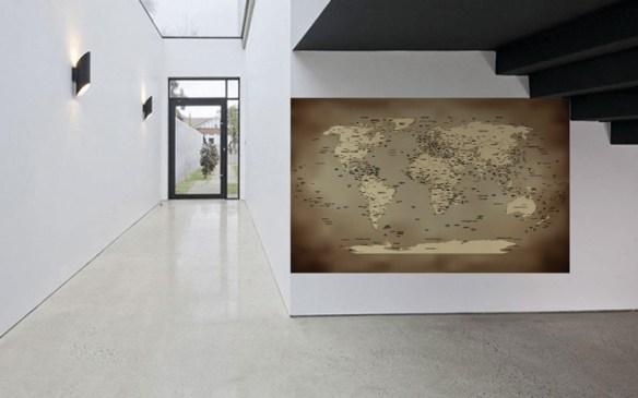 exemplo mapa mundi antigo