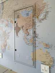 Papel de Parede Mapa Mundi sob medida - Foto 5 - Detalhe