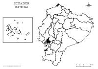 Mapas de las regiones naturales del Ecuador para colorear ...