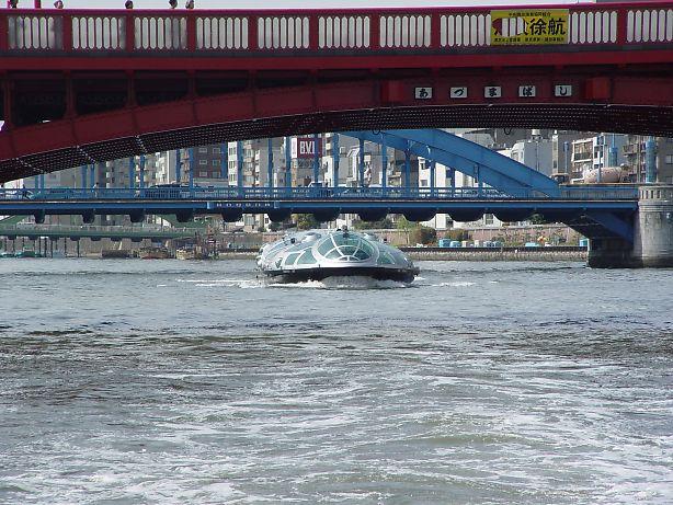 吾妻橋|隅田川