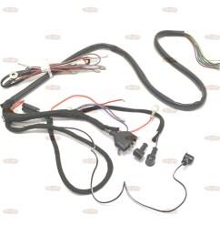 triumph 1957 63 5ta 6t 3ta oe factory lucas wiring harness 794981 [ 2400 x 2400 Pixel ]