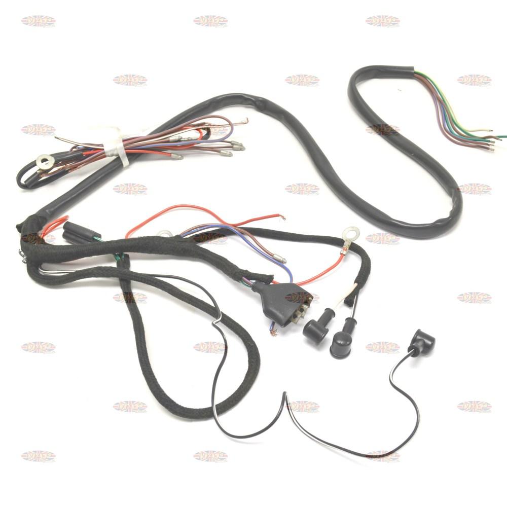 medium resolution of triumph 1957 63 5ta 6t 3ta oe factory lucas wiring harness 794981