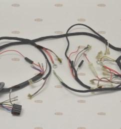 norton 1966 68 p11 p11a 650cc quality uk made wiring harness lucas  [ 3696 x 2448 Pixel ]