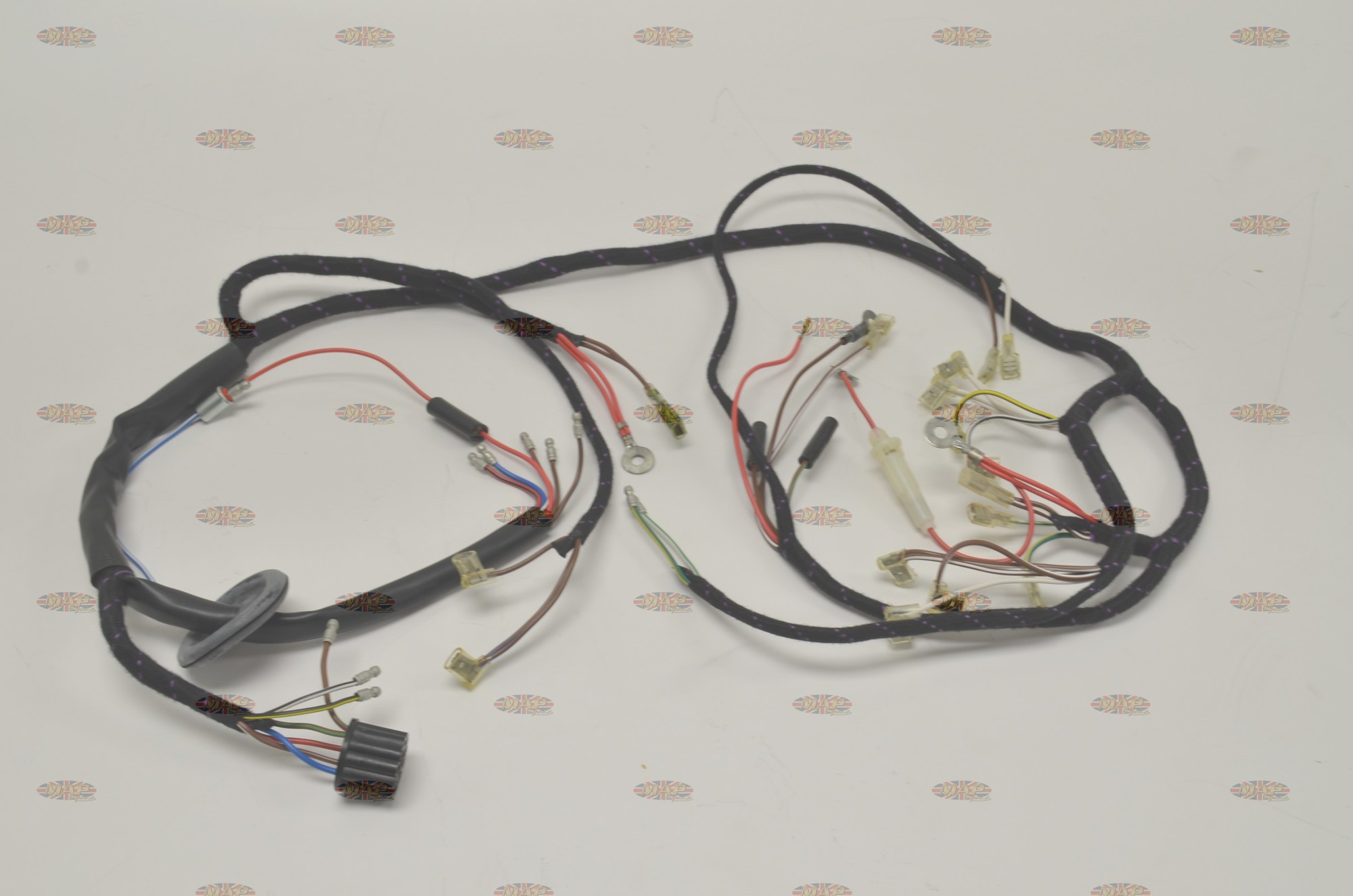 hight resolution of norton 1968 70 p11 650 mercury quality uk made wiring harness rh mapcycle com 71 norton