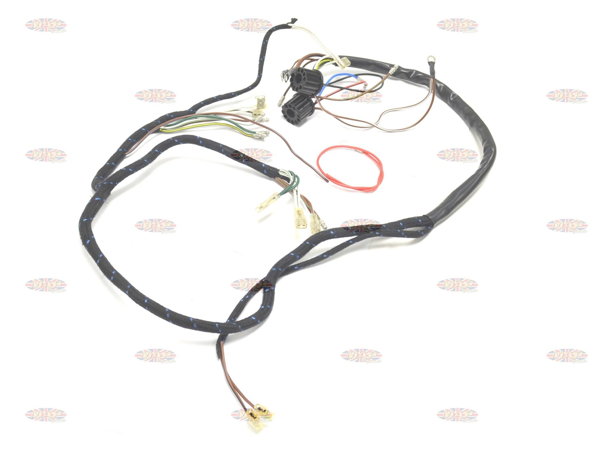 hight resolution of bsa 1962 65 a65 english made 6 volt wiring harnessbsa 1962 65 a65 english made 6