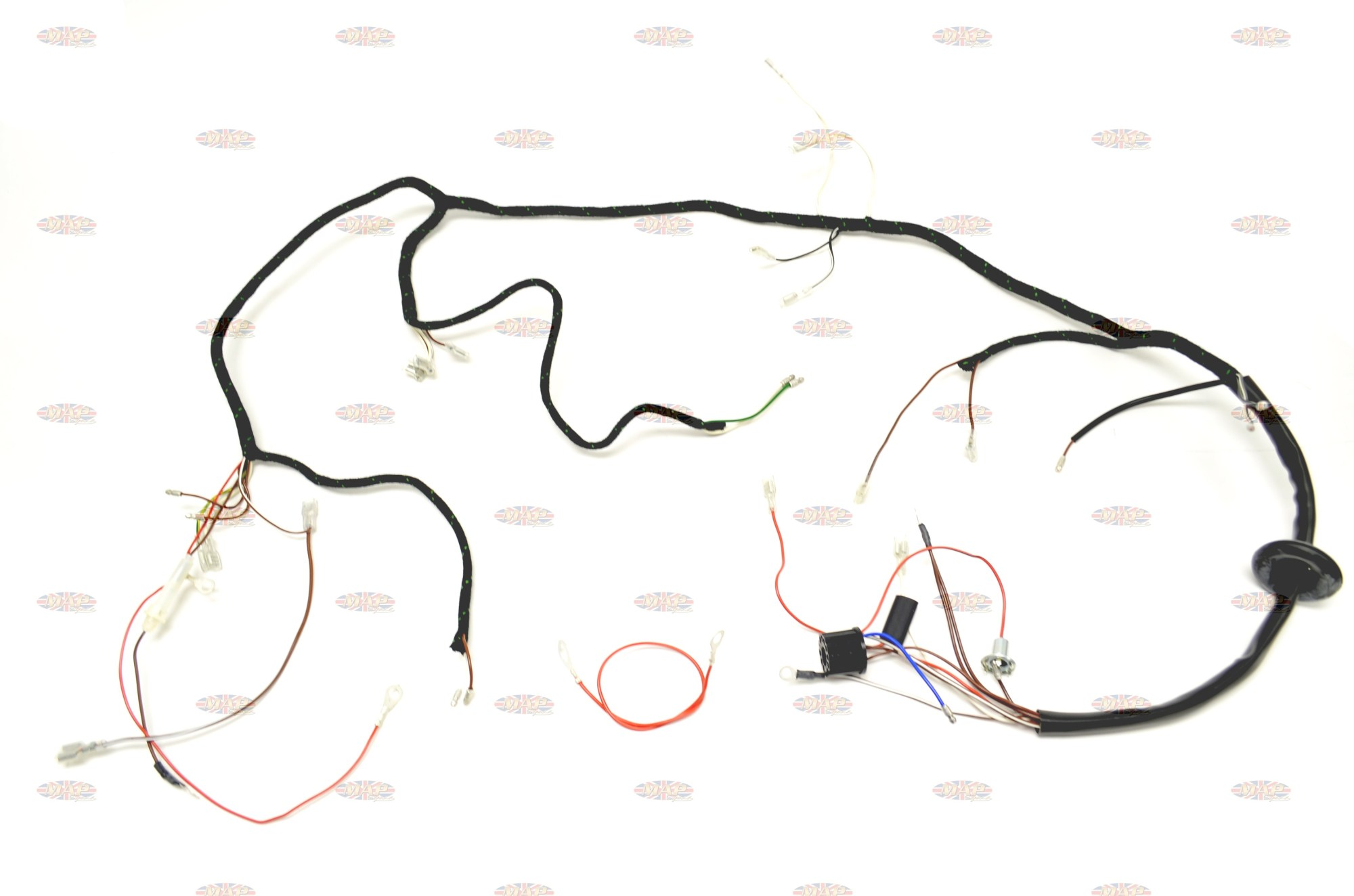 hight resolution of triumph 1967 t90 t100 t120 tr6 uk made quality wiring harness triumph t100r wiring