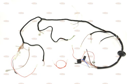 small resolution of triumph 1967 t90 t100 t120 tr6 uk made quality wiring harness triumph t100r wiring