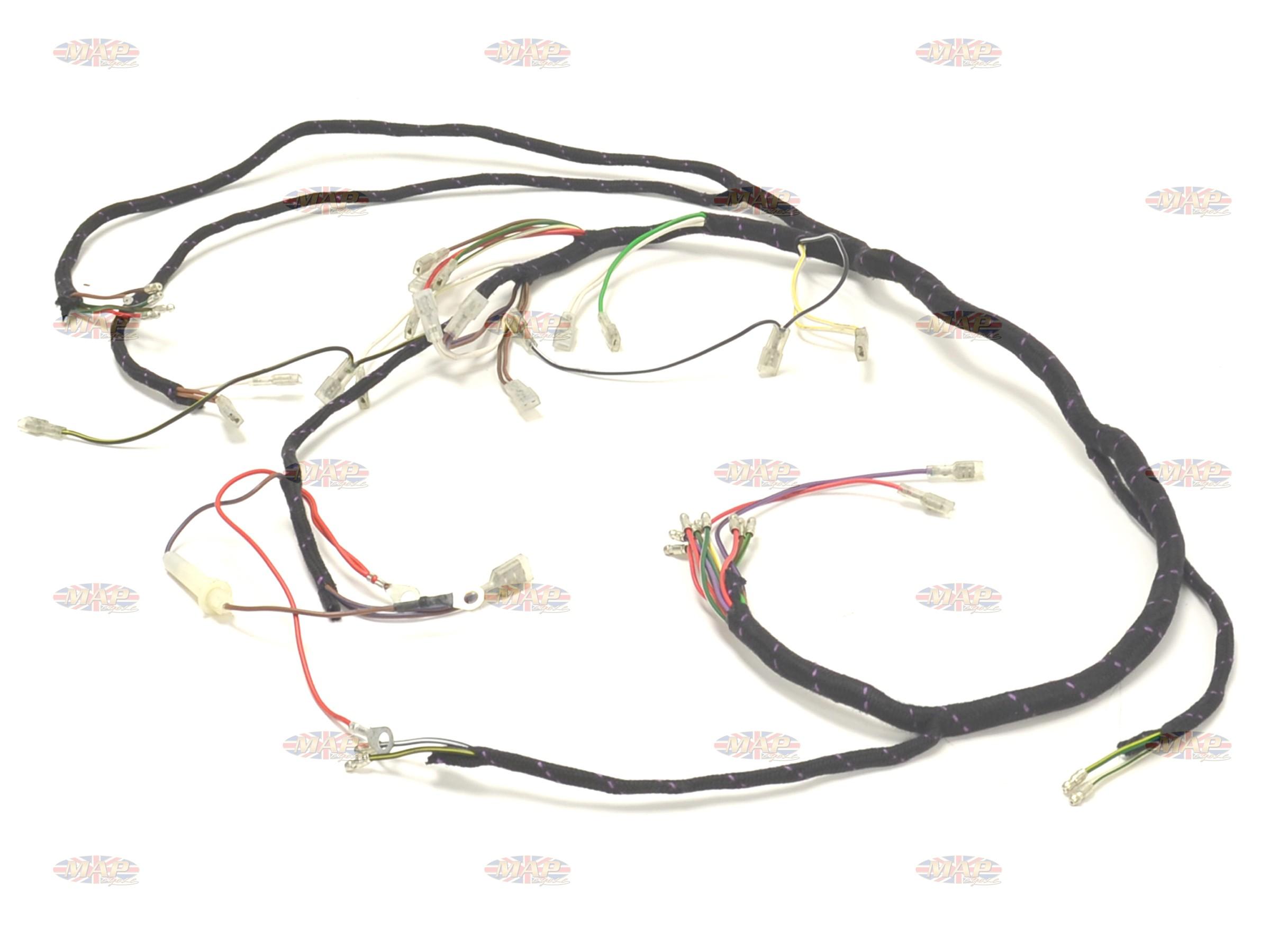 1971 triumph bonneville wiring diagram 1962 chevy k10 73 t120 tr6 tiger uk made main