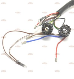 bsa 1966 67 a50 a65 uk made 12 volt wiring harness h040 [ 2400 x 2400 Pixel ]
