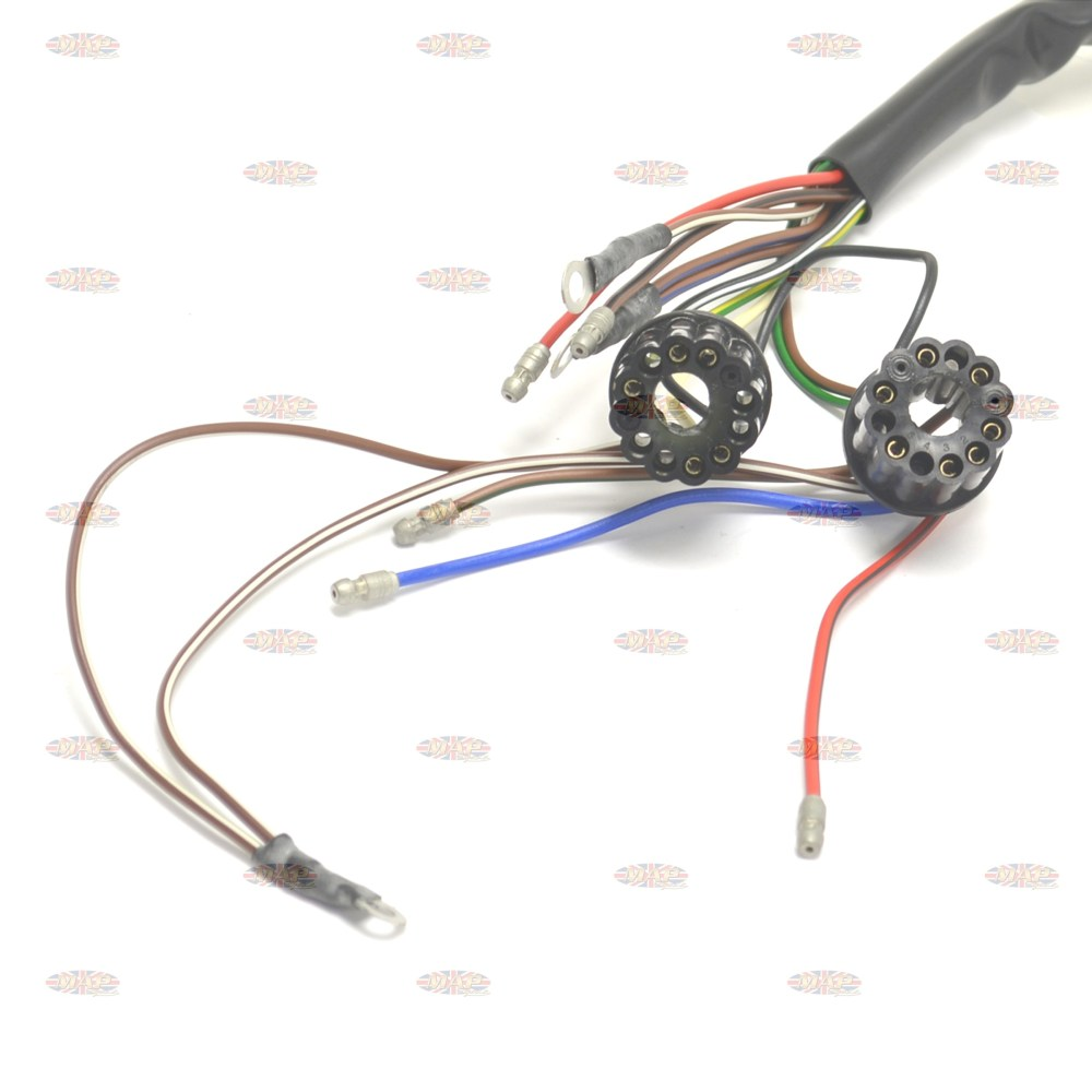 medium resolution of  bsa 1966 67 a50 a65 uk made 12 volt wiring harness h040