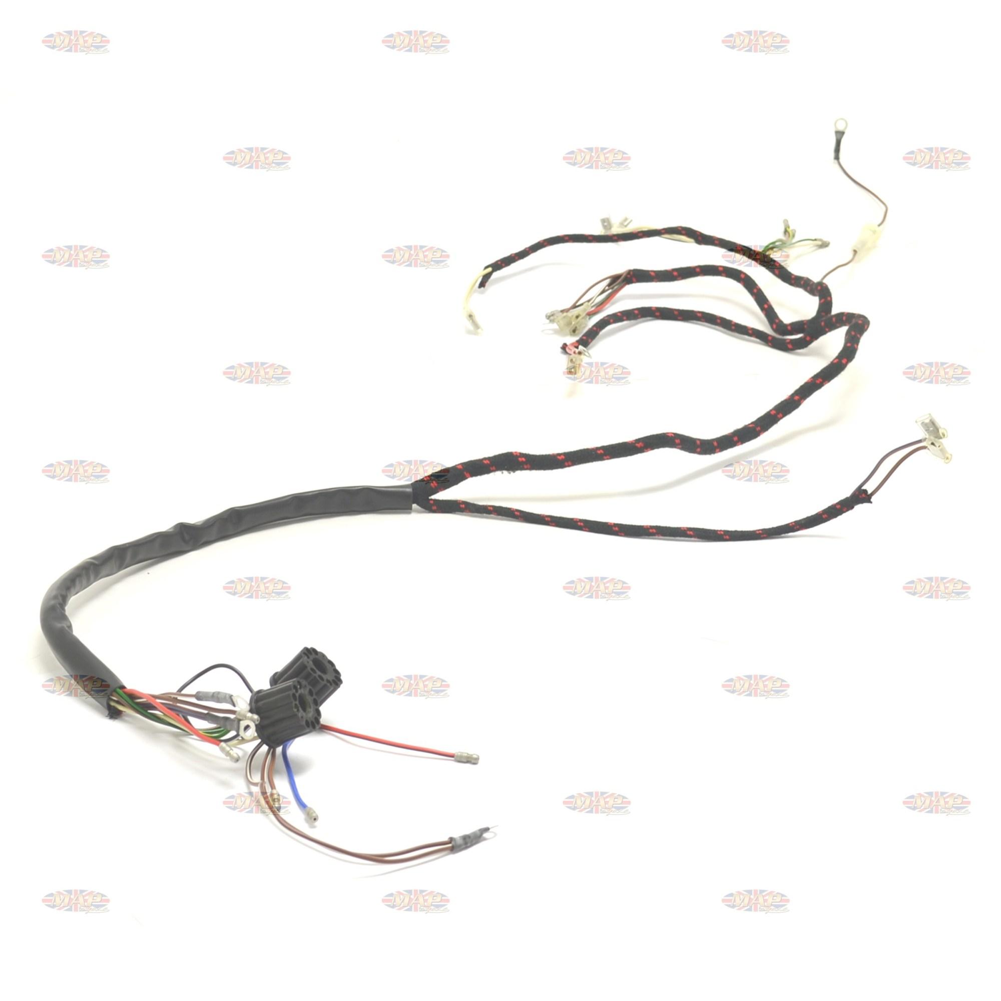 hight resolution of bsa 1966 67 a50 a65 uk made 12 volt wiring harness john deere 4020 12 volt wiring harness 12 volt wiring harness