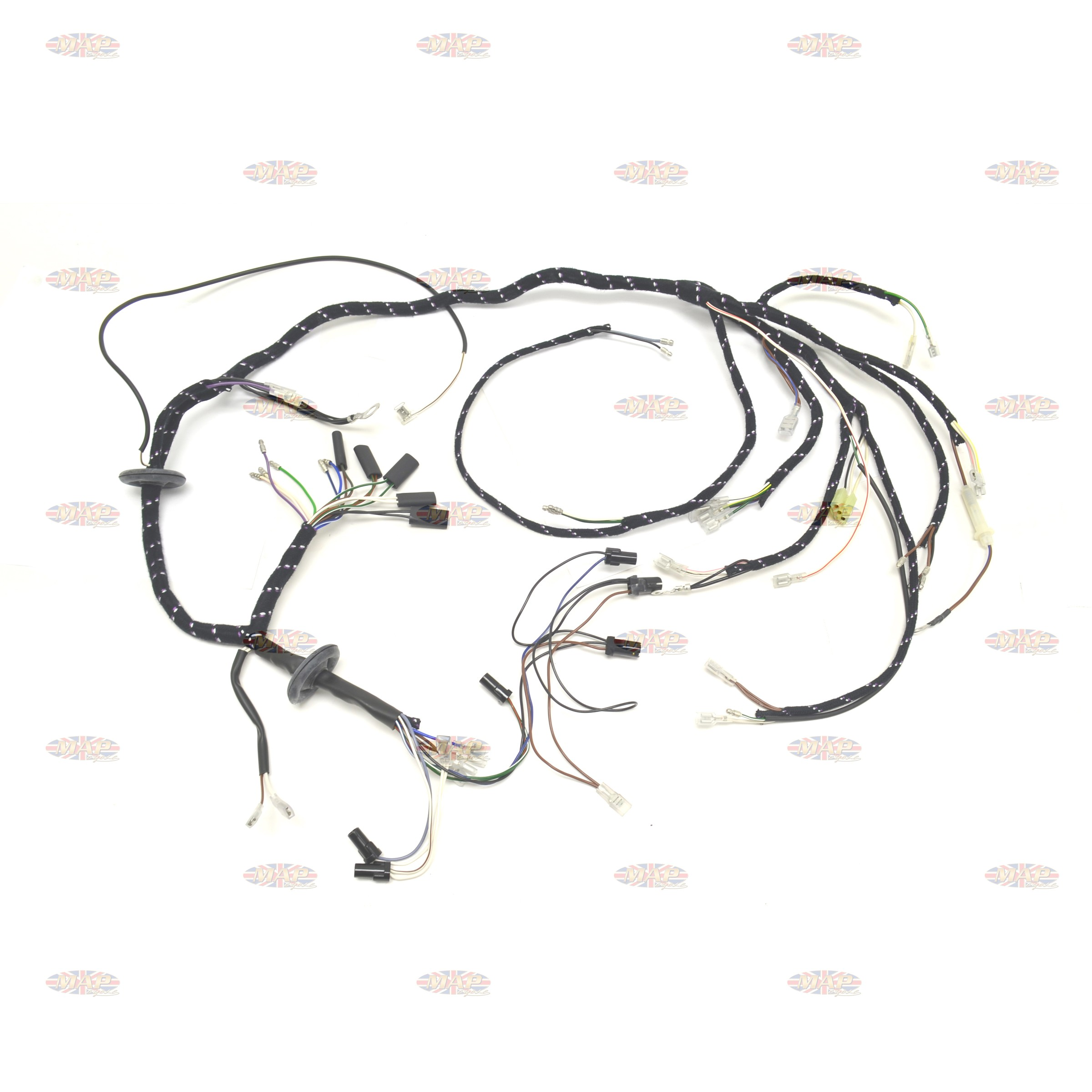 Triumph 1979-80 T140E T140ES English Made Wiring Harness