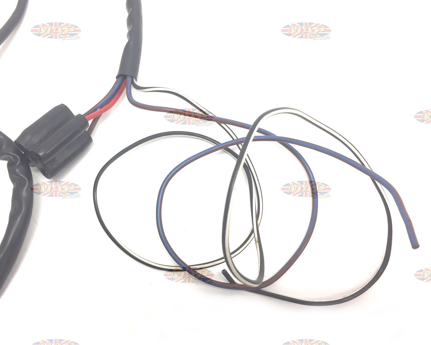 hight resolution of triumph 1959 62 t20s tiger cub oe genuine lucas wiring harness 54094090 triumph
