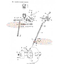 Triumph T140 Bonneville Exploded View Parts Diagrams