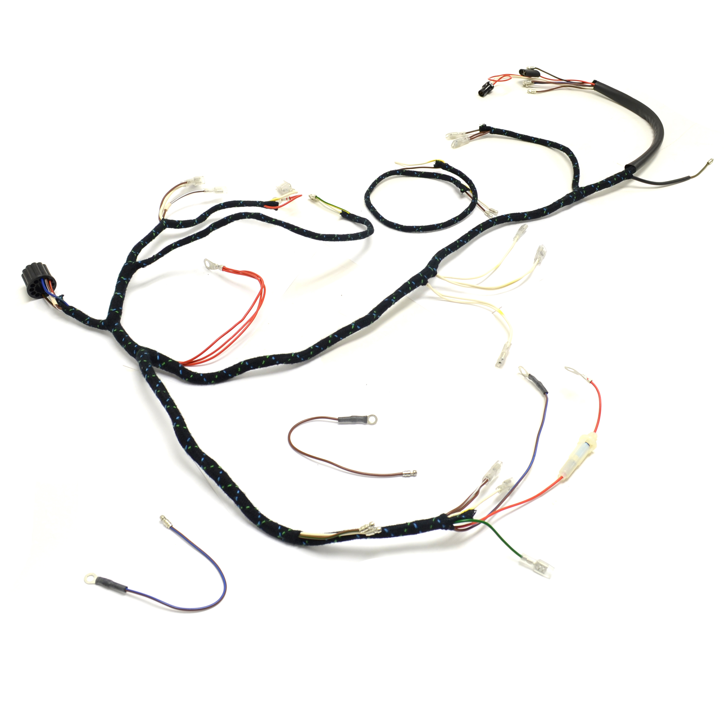 Triumph T90 T100 T120 Tr6 Uk Made 12 Volt Wiring Harness H023