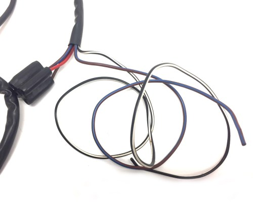 small resolution of triumph t20s cub wiring harness
