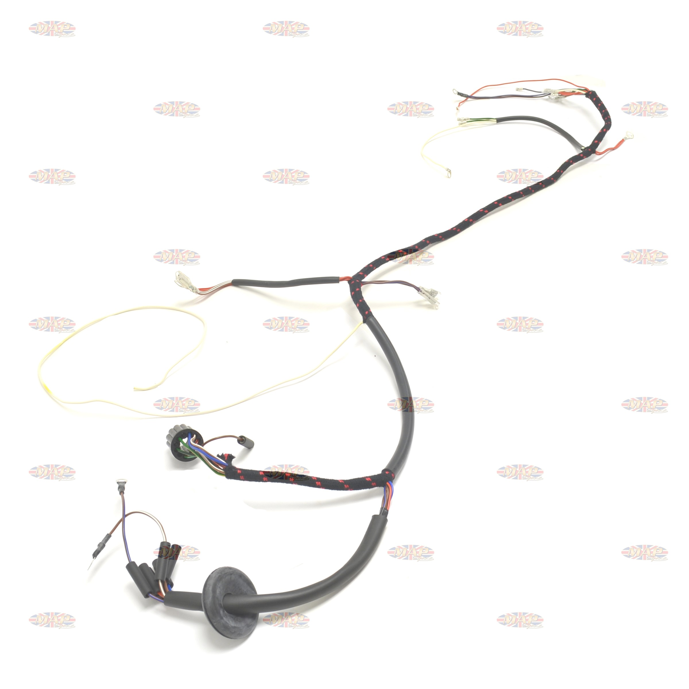 Norton 1964-67 650SS 750 Atlas UK-Made 12 Volt Wiring Harness