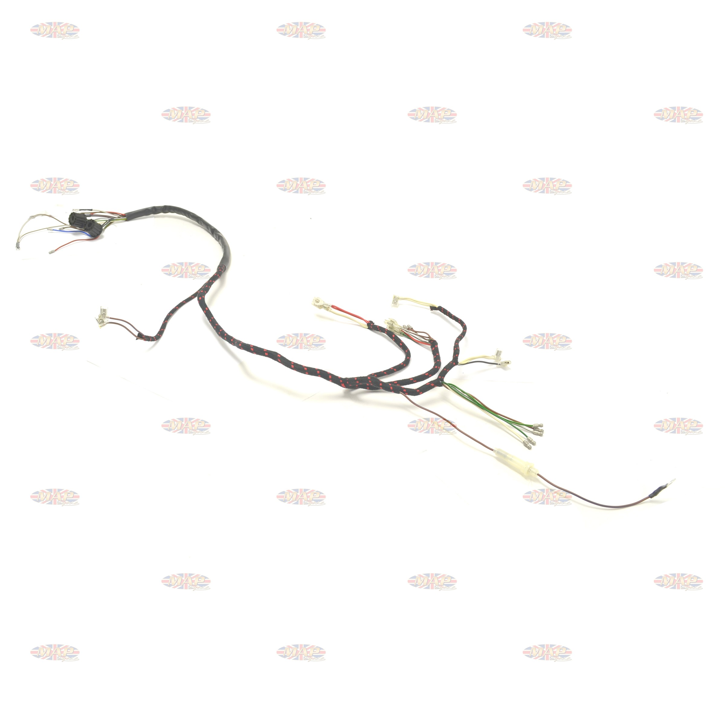 BSA 1966-67 A50 A65 UK-Made 12 Volt Wiring Harness