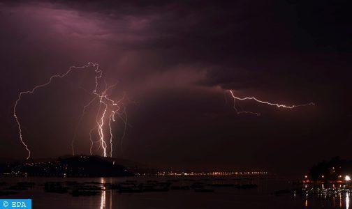 Averses orageuses localement fortes vendredi dans les provinces d'Agadir et Essaouira