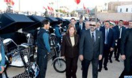 SM le Roi Mohammed VI Visite Medina Rabat-M4
