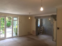 Living Room and Dining Room Re-Skim - MA Plastering Services