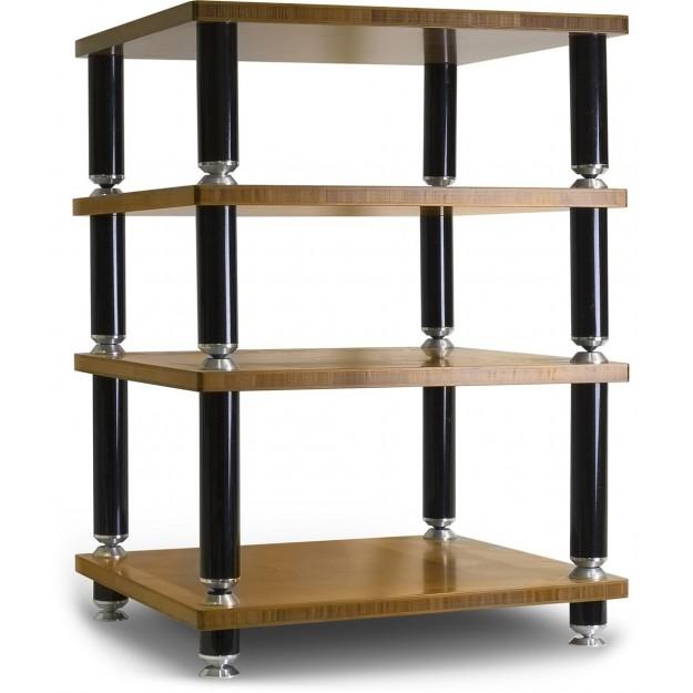 norstone stabbl bamboo hi fi cabinet