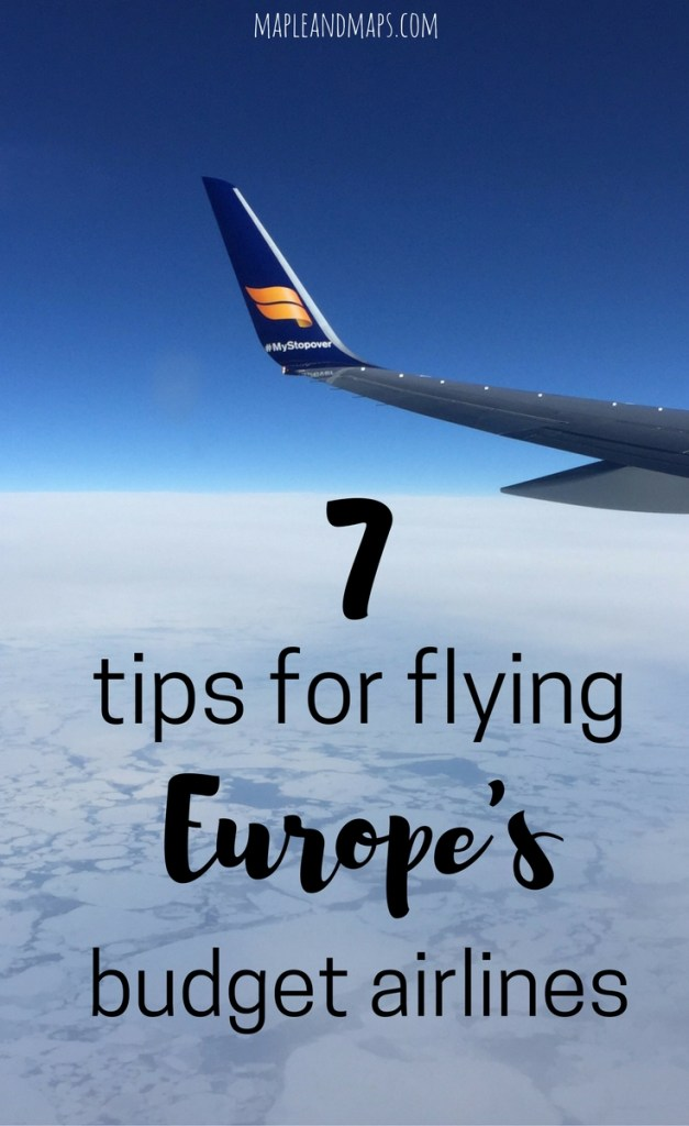 7 Tips for Flying Europe's Budget Airlines