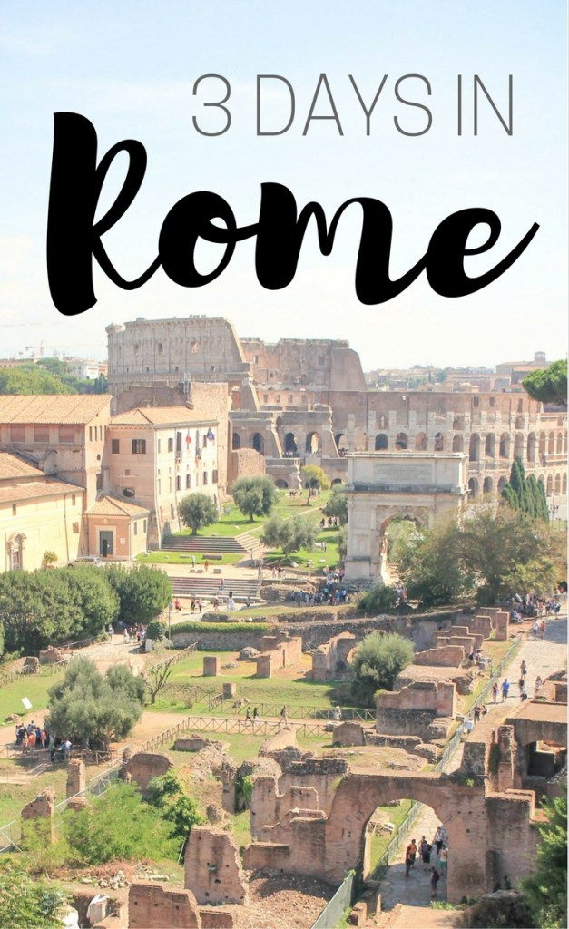 Three Days in Rome for First-Timers