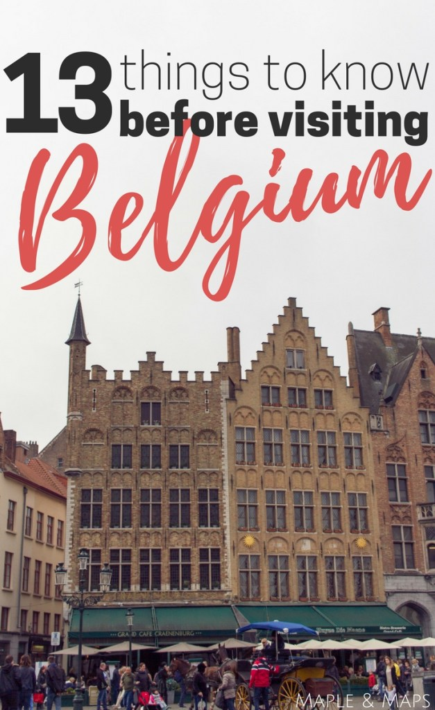 13 Things to Know Before Visiting Belgium