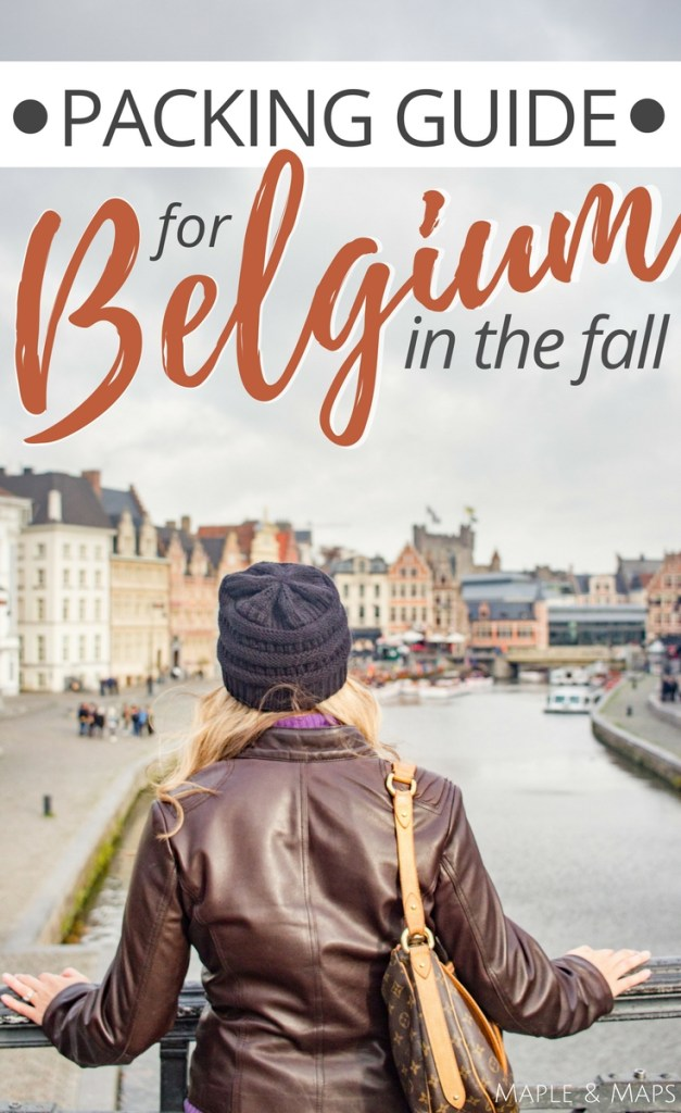 What to Pack for Belgium in the Fall