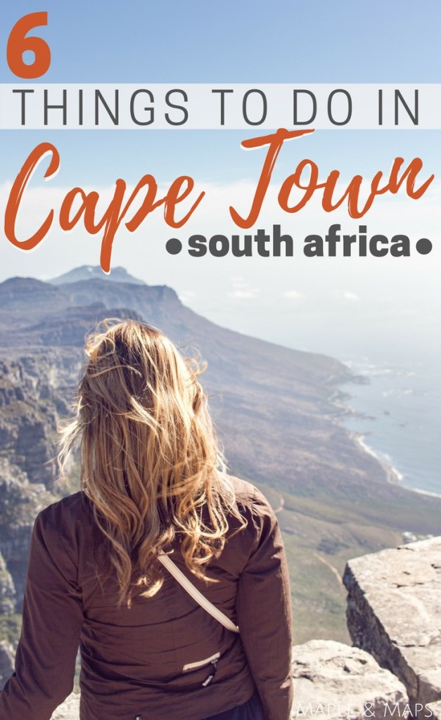 6 Things to do in Cape Town, South Africa