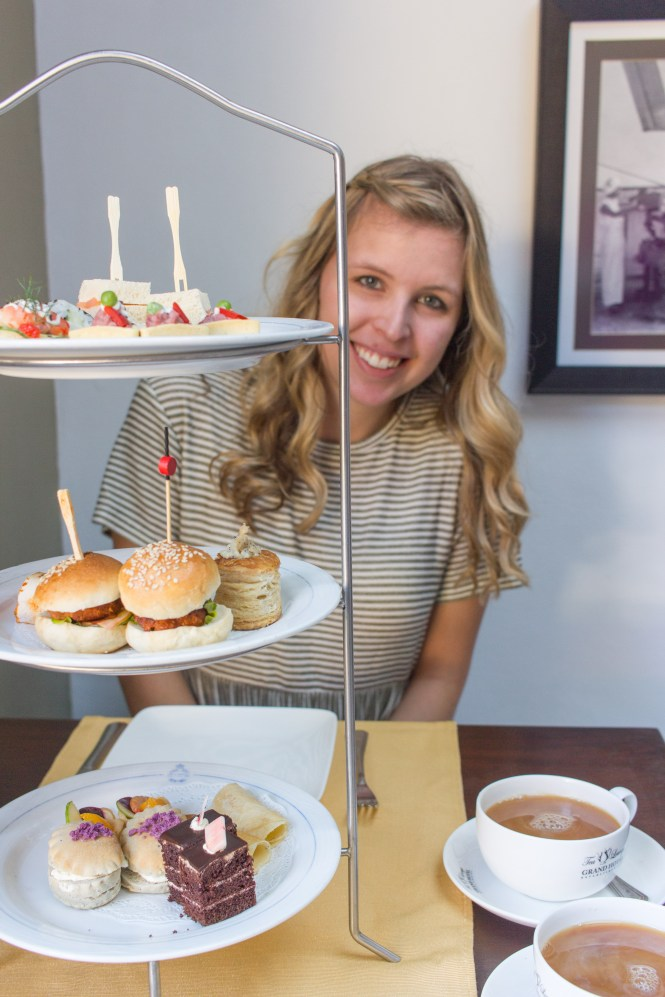 High Tea at the Grand Hotel