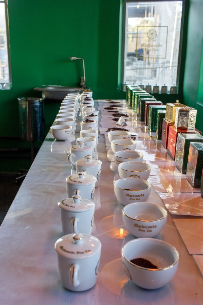 Mackwoods Tea Tasting