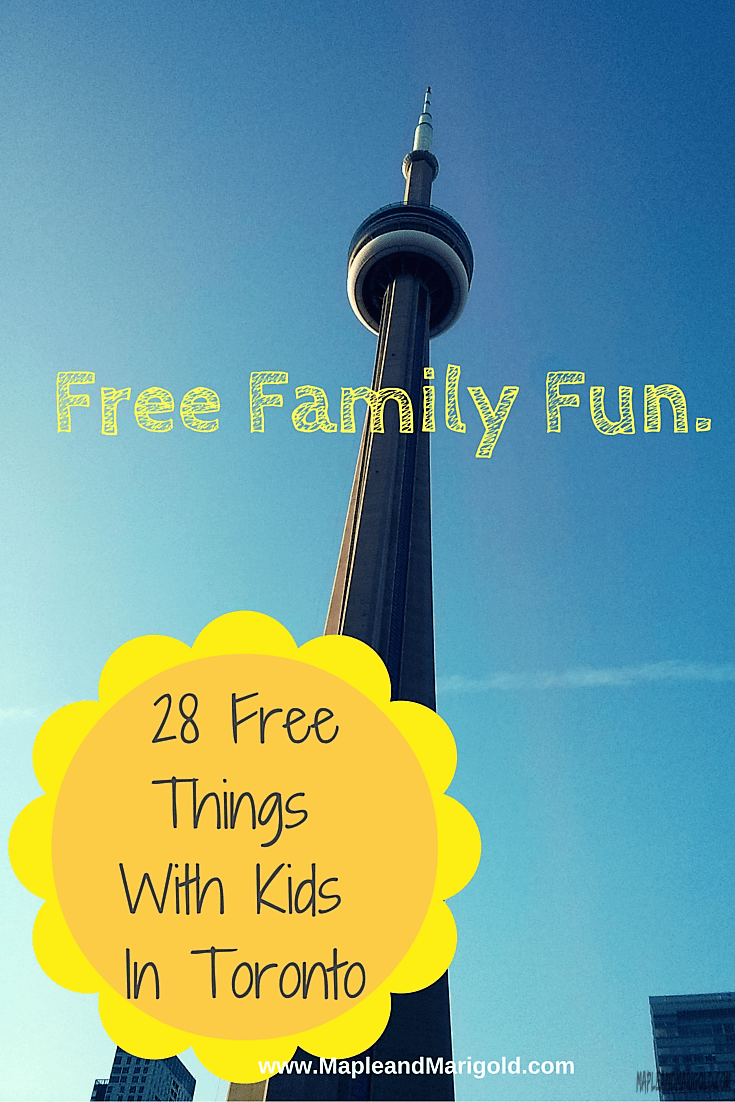 28 Fun & Free Things To Do With Kids In Toronto